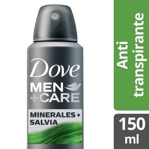 Antitranspirante en Aerosol DOVE Men Care Minerales + Salvia