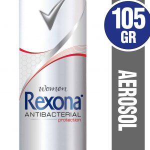 Antitranspirante en Aerosol REXONA Antibacterial Femenino panaleraencasa