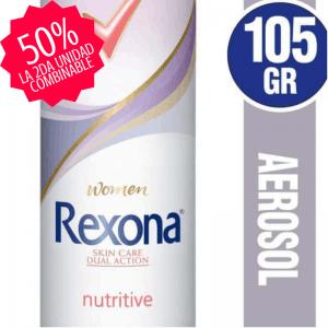 Antitranspirante en Aerosol REXONA Nutritive panaleraencasa