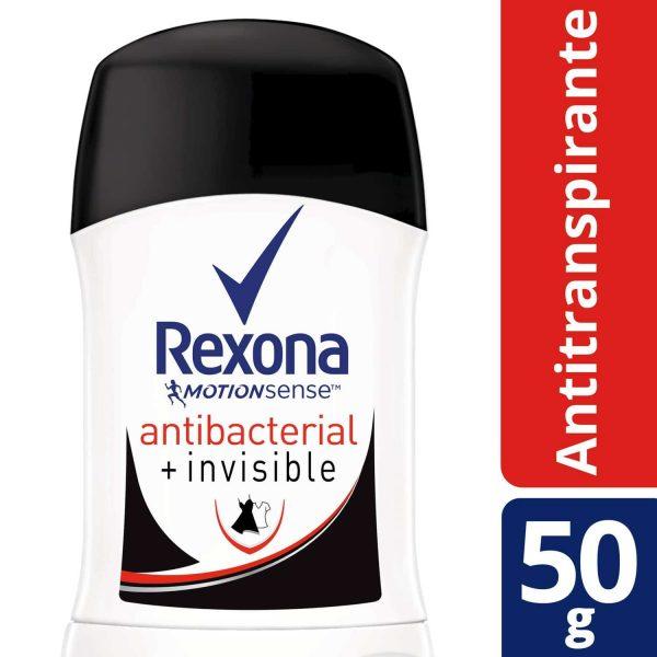 Antitranspirante en Barra REXONA Amtibacterial + Invisible panaleraencasa