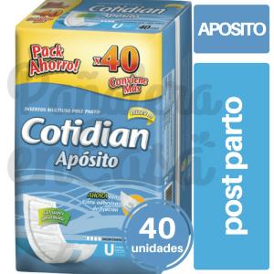 COTIDIAN-APOSITO-LARGO-POSTPARTO-X40