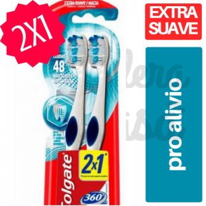 Cepillo Dental COLGATE 360 2x1 Sensitive