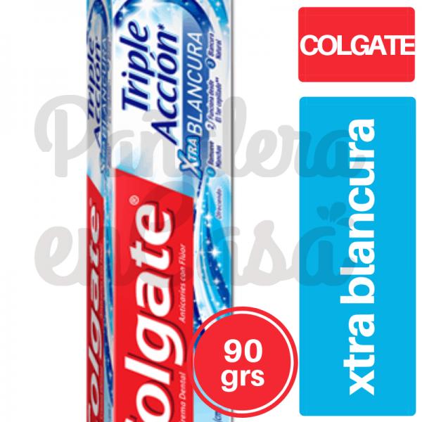 Crema Dental Colgate Triple Acción Xtrablancura 90grs