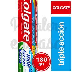 Crema Dental COLGATE Triple Acción 180 panaleraencasa