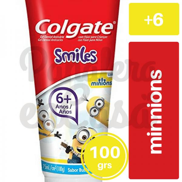 Crema Dental Colgate Smiles Minnions +6