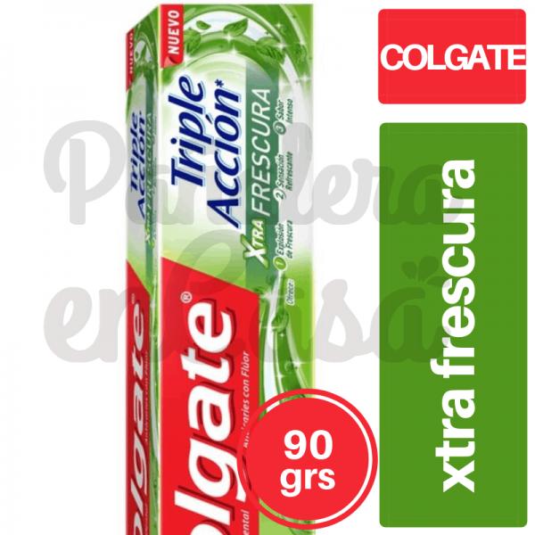 Crema Dental Colgate Triple Acción Xtrafrescura 90grs