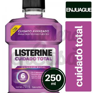 Enjuague Búcal LISTERINE Cuidado Total 250ml panaleraencasa