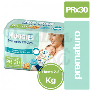 HUGGIES Primeros 100 Dias Prematuro x30