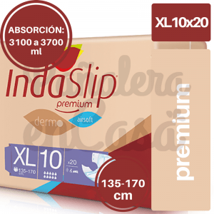 INDASLIP PREMIUM XL10 X20 UNIDADES (110 X 1