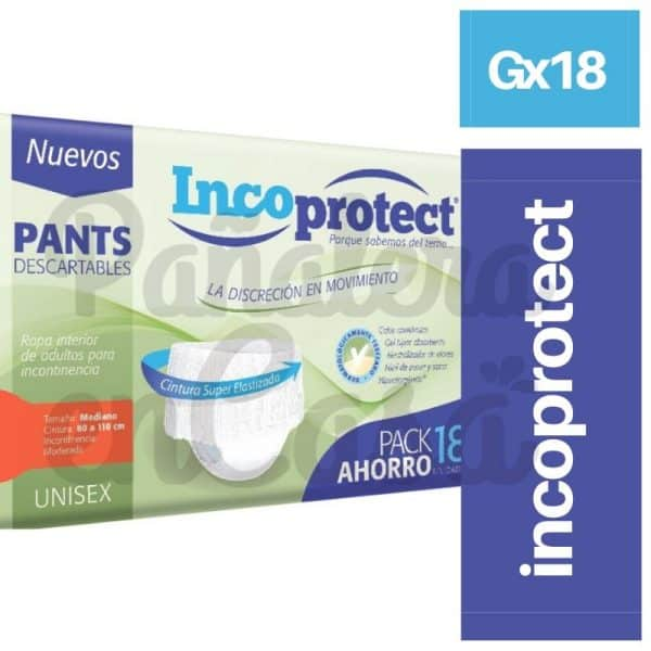 PANTS INCOPROTECT GX18 X 18 UN