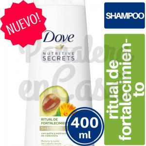 Shampoo DOVE Ritual de Fortalecimiento 400ml