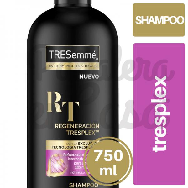 Shampoo TRESEMMÉ Triplex 750ml panaleraencasa