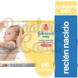 Toallitas Húmedas JOHNSON'S Recién Nacido x96 panaleraencasa