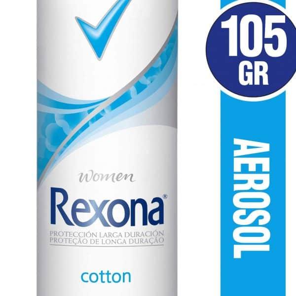 ntitranspirante en Aerosol REXONA Cotton panaleraencasa